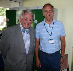 Our VIP Guest, The Rt. Hon. Lord Naseby with Association Chairman, Andrew Havergal