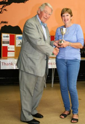 Gail Smith - Winner of the Presidents Trophy
