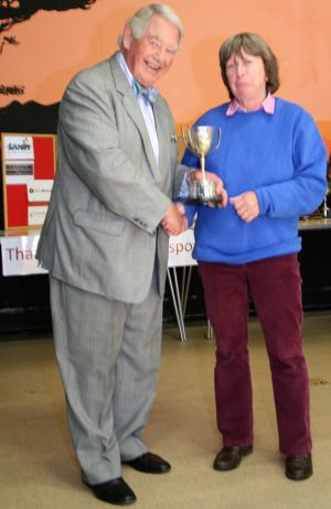 Claire Harland, winner of The Preserves Cup