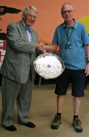 Peter Messenger - The Vera Barber Tray for services to the Association